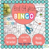 End Of Year Bingo- Students Make Their Own Cards
