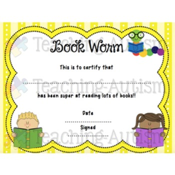 End of the Year Certificate Bundle