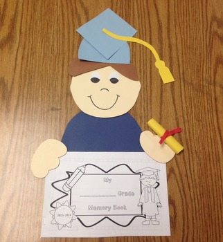 Graduation Craft and End of Year Memory Book