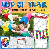 End Of Year Fun Activities and Games