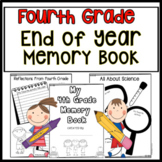 End Of Year Memory Book Fourth Grade End of Year Activities 4th Grade