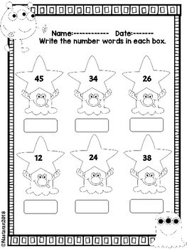 Beginning of The Year | Back to School Math Worksheets