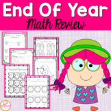End Of Year Math Review Packet-Summer Packet For 1st Grade