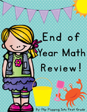 End Of Year Math Review Packet