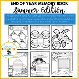 End Of Year Memory Book - Summer Edition