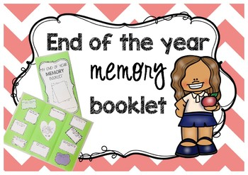 End Of Year Memory Booklet