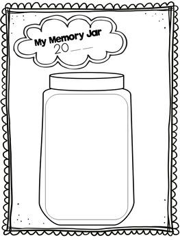 End Of Year Memory Jar