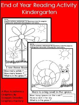 Reading for FUN - Kindergarten