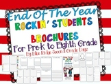 End Of Year Rockin' Students  Advice For Next Year's Class Pre-K to Eighth Grade