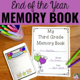 School Year Memory Book Activities with Digital Version fo