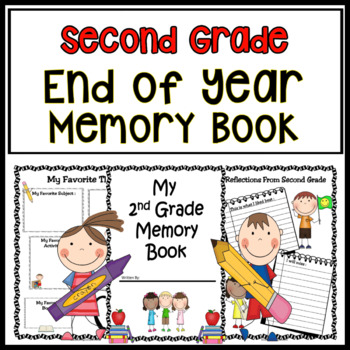 End Of Year Activities - Memory Book