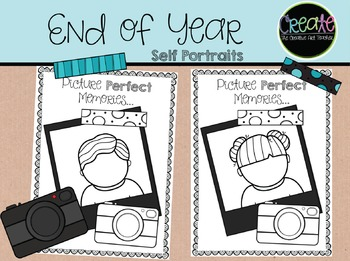 End Of Year - Self Portraits
