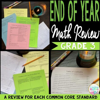 End of Year / Summer Review CCSS Math Packet Grade 3