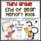 Third Grade End Of Year Activities End of Year Memory Book 3rd Grade Activities