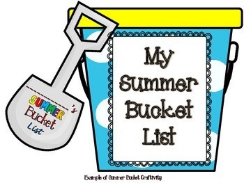 End Of Year Writing Activities:From Scavenger Hunts,Craftivities,to Bucket Lists