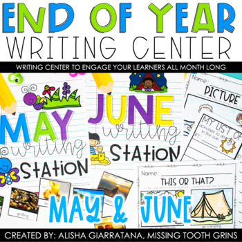 End Of Year Writing Center
