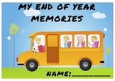 End Of Year student booklet