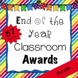 End Of the Year Classroom Awards {Bundle}