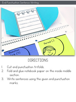 End Punctuation Interactive Notebook