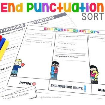 End Punctuation Sort | End Punctuation Center