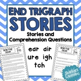 End Trigraph Stories - Reading Comprehension Passages - ea
