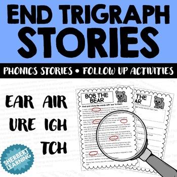 End Trigraph Stories - Reading Comprehension Passages - ea