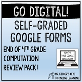 End of 4th Grade Computation Review Pack!