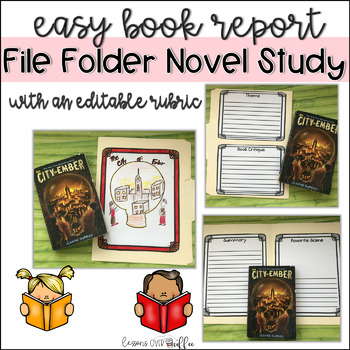 End of Book Activity: File Folder Book Report