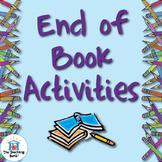 End of Book Activity Ideas ~ Book Report Alternatives