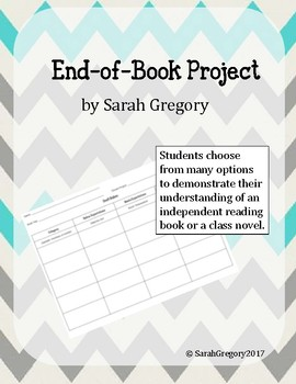 End of Book Project