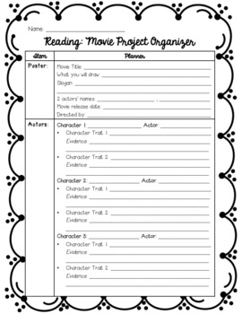 End of Book Project: Create a Movie Poster
