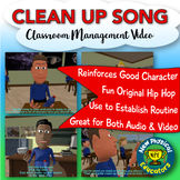 Clean up Songs for Classroom Management - DOWNLOAD Version
