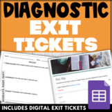 End of Class EXIT SLIPS w/ FREE Classroom Posters!