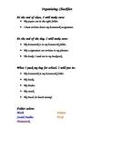 End of Class Organization Checklist