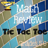 End of Year Math Review for Fifth Grade