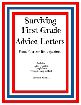 End of First Grade Advice Letters