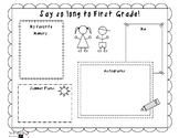 End of First Grade Memories ~FREEBIE~