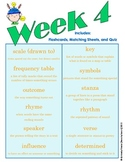 End of Grade (EOG) Vocabulary Week 4 (Common Core)