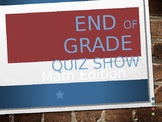 EOG Quiz Show- Math Vocabulary and expressions