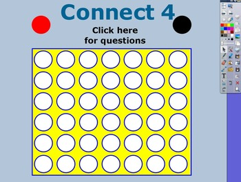 End of Grade Reading Vocabulary Review Game- Connect 4 SMARTBOARD