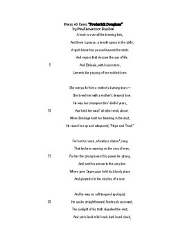 End of Grade Test Poetry Activity_Poem 3