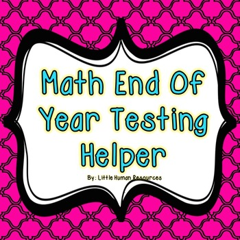 End of Level Test Math Helper