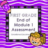 End of Module 1 Assessment Math First Grade
