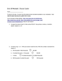 End of Module 1 Study Guide Eureka Math 4th Engage NY