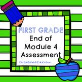 End of Module 4 Math Assessment First Grade