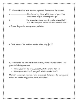 End of Module 4 Review Sheet - Grade 5 (Eureka Math / Engage New York)