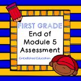End of Module 5 Math Assessment First Grade