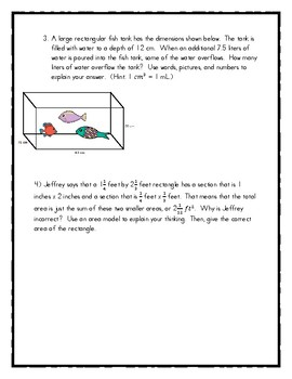 End of Module 5 Review Sheet - Grade 5