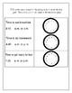 End of Module 8 Review Sheet - Grade 2 (Eureka Math / Engage New York)