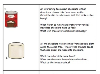 End of November - Chocolate Day!  Listening Comprehension Activity